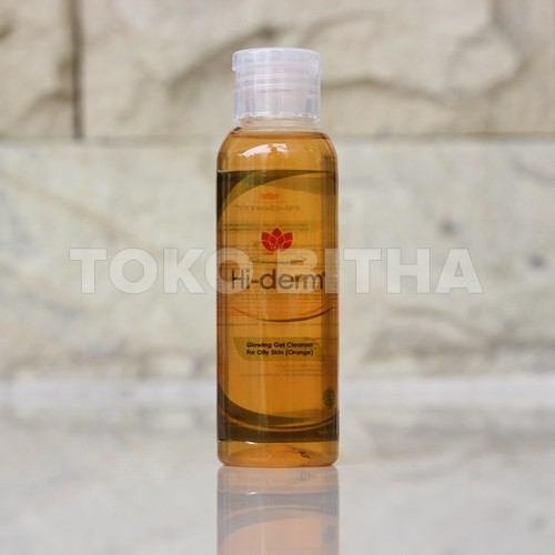 GLOWING GEL CLEANSER OILY SKIN ORANGE HI DERM 1
