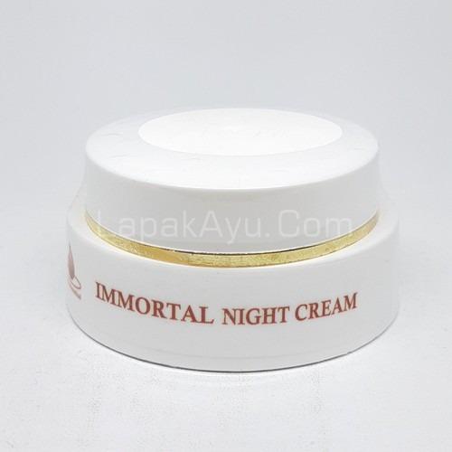 NIGHT CREAM IMMORTAL CREAM MALAM UNTUK MENCERAHKAN KULIT WAJAH BISA UNTUK SEMUA JENIS KULIT 1