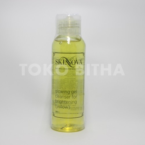 SKINNOVA GLOWING GEL CLEANSER FOR BRIGHTENING YELLOW 1