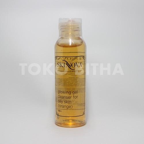 SKINNOVA GLOWING GEL CLEANSER FOR OILY SKIN ORANGE 1