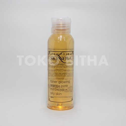SKINNOVA TONER GLOWING ORANGE PORE MINIMIZER FOR OILY SKIN 1