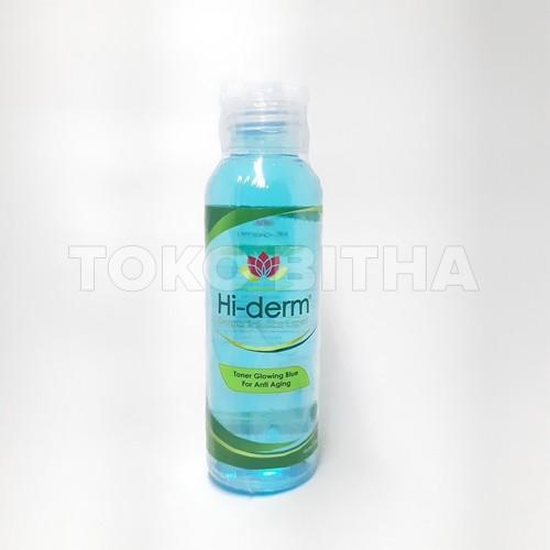 TONER GLOWING BLUE HI DERM FOR ANTI AGING 1