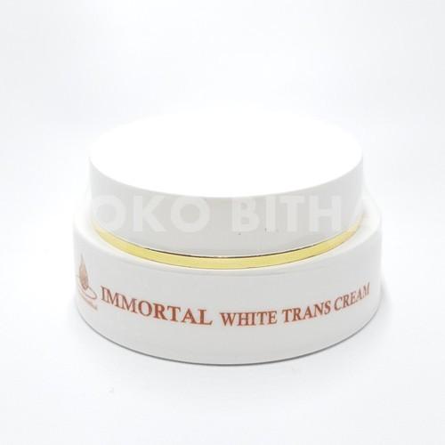 CREAM ANTI FLEK WHITE TRANS CREAM IMMORTAL ORIGINAL ANTI FLEK MELASMA KB MENCEGAH HIPERPIGMENTASI 1