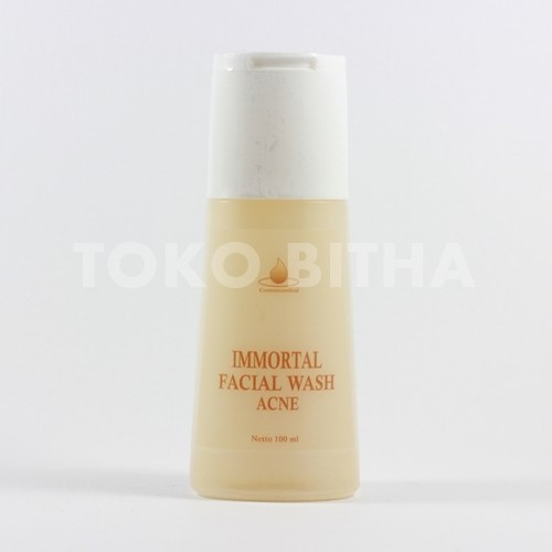 IMMORTAL FACIAL WASH ACNE SERIES (AX) 1