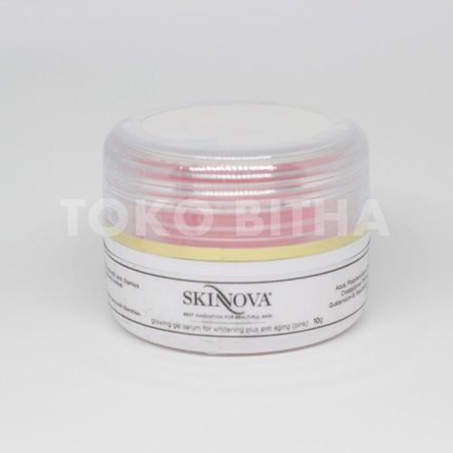 SKINNOVA GLOWING GEL SERUM PINK EXTRA WHITE 1