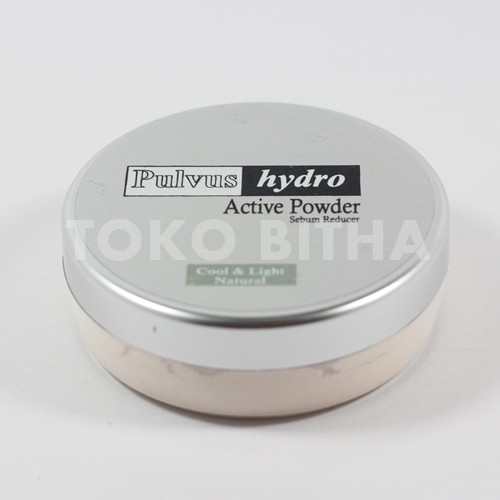 IMMORTAL PULVUS HYDRO ACTIVE POWDER SEBUM REDUCER NATURAL 1
